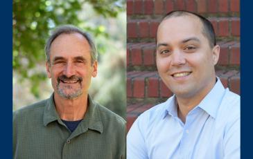 Portraits of Steven Beissinger and James Olzmann